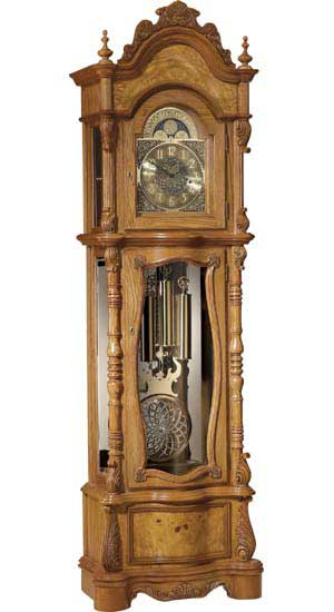 8-19 grandfather clock